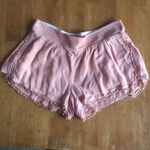 O'Neill pink stretch short shorts
